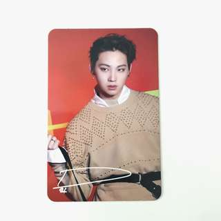 Got7 JB Photocard