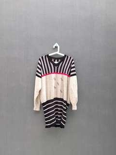 Knitted Midi Dress / Rajut