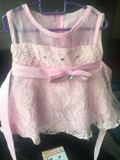 Dress for baby girl to let go