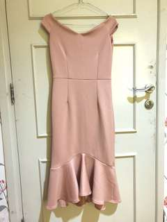 Sale! Sabrina dress 79sdh+ongk ssm jkt
