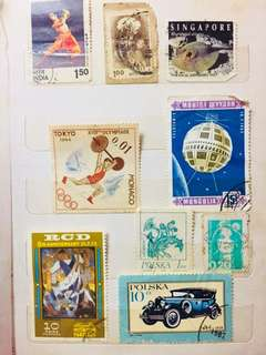 Countries stamp