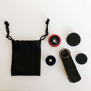 Clip Lens Fisheye&WideAngle
