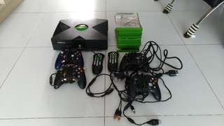 Xbox console and games