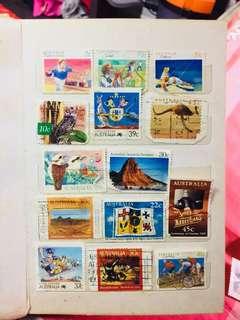 vintage stamps australia