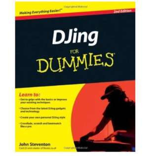 Djing For Dummies Book
