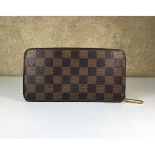LOUIS VUITTON N60015 ZIP ROUND LONG WALLETS