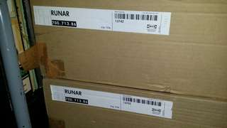 "Ikea ""RUNAR"" Solid Wood Dining Chairs"