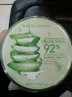 Nature Republic Aloevera LANGSUNG DARI KOREA 92% soothing gel
