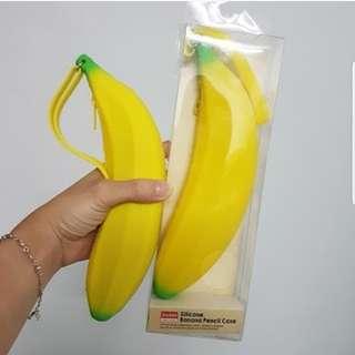 Banana Silicone Pencil case