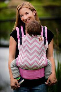 Tula Standard Baby Carrier - Pink Zig Zag