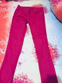 Pink Pants uniqlo