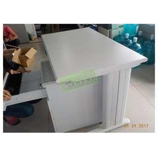 OFFICE TABLE BULLNOSE EDGE--KHOMI