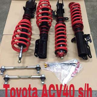 Toyota Camry ACV40 hi lo soft hard bodyshift adjustable.
