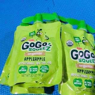 Go Go Squeez Organic baby food