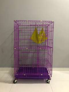 2 tier animal cage