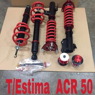 Toyota Estima ACR50 hi lo soft hard bodyshift adjustable.
