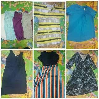 Maternity / Nursing Bundle (dress/t-shirts)