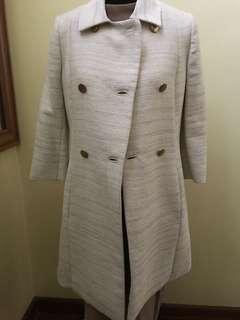 Mango Suit 3/4 Tweed Coat