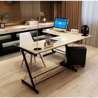 Corner L-Shaped Office Table