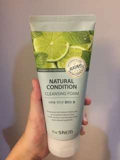 THE SAEM NATURAL CONDITION (PEPPERMINT & LIME)