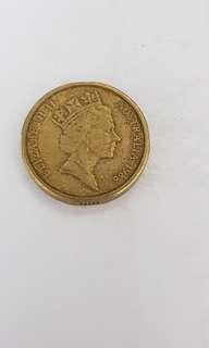 Elizabeth II $2 Coin