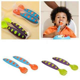 Toddler Training Spoon and Fork Set