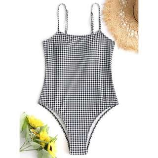 Checkered One Piece