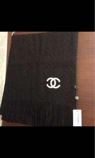 🚚 Chanel羊絨圍巾