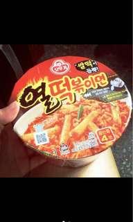 韓國不倒翁辣年糕拌麵