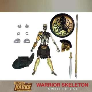VITRUVIAN H.A.C.K.S. WARRIOR SKELETON ARMY OF THE DEAD
