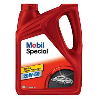 Mobil Special 20W-50 Mineral Engine Oil (4L)