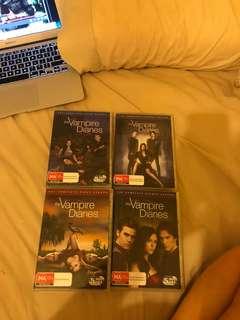 The Vampire Diaries season 1-4