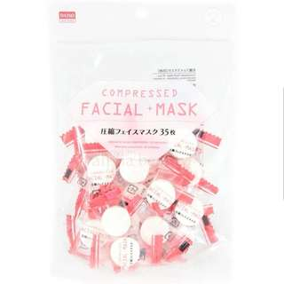 Daiso Compressed Mask 50pcs