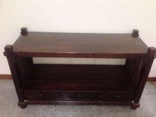 Beautiful Console Antique Wood table