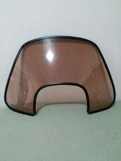 windshield vespa sprint modern + rubber