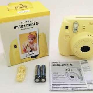 New. Instax Mini 8 Polaroid.