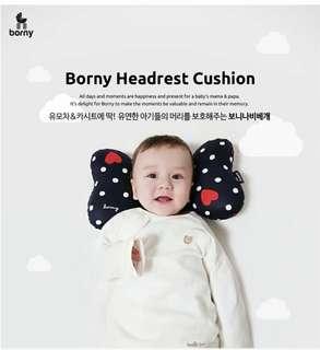 韓國Borny嬰兒蝴蝶枕