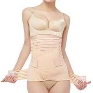 Women Maternity Postnatal Pelvic Support Waist Stomach Belt Set