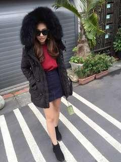 🚚 轉售 2015 SLY N3B 鐵扣毛毛外套 保暖外套 短版