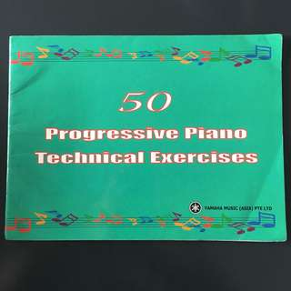 Yamaha book: 50 Progressive Piano Exercise