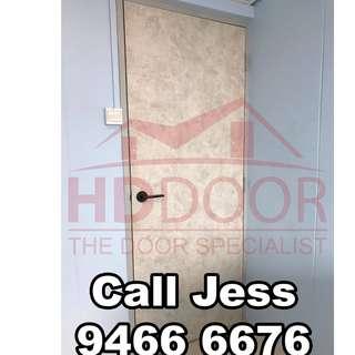 HDDoor the Laminate solid Bedroom door with install