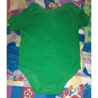 Plain Green Onesie