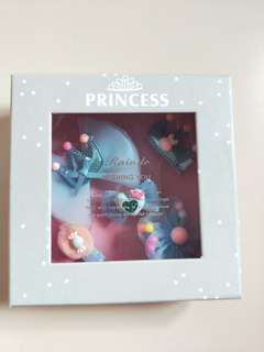 Light blue princess series hair clip set
