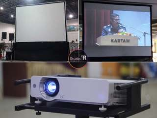 Projector High Definition (HD) for RENTAL