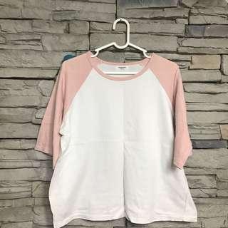 🚚 粉色棒球⚾️短袖上衣