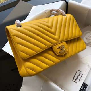 Chanel Flap Chevron 25cm