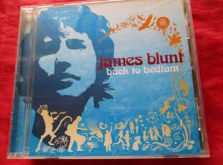 CD: James Blunt - Back to Bedlam