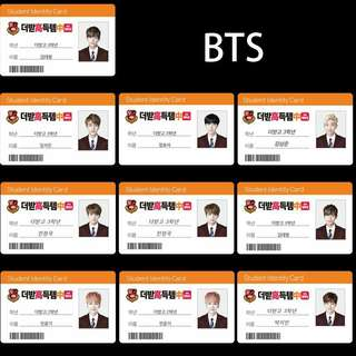 BTS ezlink card Stickers