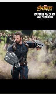 Hot toys captain America  ( normal) infinity  wars