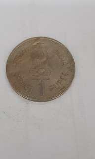 Indian 1 Rupee